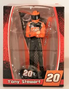 Tony Stewart #20 Home Depot Figure and Stand NASCAR Collectible Ornament Trevco