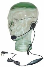 New listing Lightweigh Headset Metal Flex Boom Mic Ptt Relm Rp3 Radios Rp 3600 3000 7500 Ect