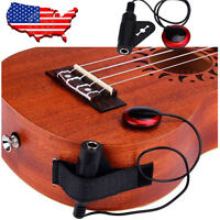 Acoustic Piezo Contact Microphone Pickup For Guitar Violin Mandolin Ukulele