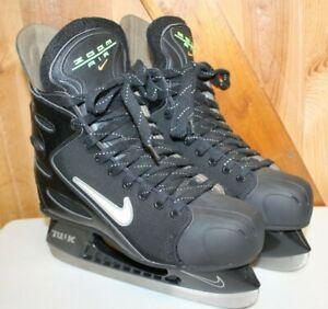 Nike Air Zoom TUUK Ice Hockey Skates ~ Vintage ~ Men's Size 10.5