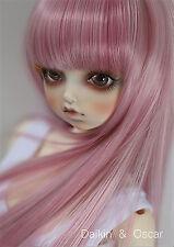8-9 Jouets Cheveux Perruque Dal Pullip BJD SD LUTS DZ DOD dollfie Doll pink wig
