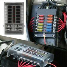 10-polig Sicherungshalter ATO ATC BOOT 32V Sicherungskasten Dose Blockhalter LED