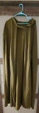 Olive Green Cloak with hood and arm holes, no lining.  One size approx. large xl