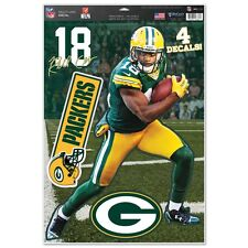 RANDALL COBB GREEN BAY PACKERS MACBOOK LAPTOP REMOVABLE REUSABLE DECALS NEW