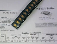 1 pièces Mini Circuits KSWA - 2-46 switch 50ω spdt absorptive DC to 4.6 GHz (m1495)