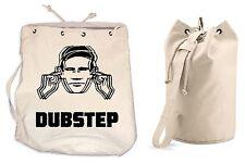DUBSTEP DUFFLE BAG College Rucksack Gym Beach Dub Step Drum n Bass