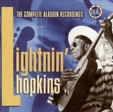 LIGHTNIN' HOPKINS THE COMPLETE ALADDIN RECORDINGS 2 CD BOX SET - TEXAS BLUES