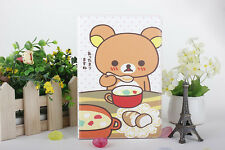 NEW Bear Rilakkuma PU Leather Apple iPAD Mini Pouch Case protector stand cover
