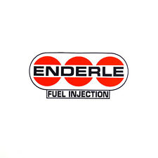 ENDERLE FUEL INJECTION DRAG RACE HOT RAT ROD DECAL VINTAGE LOOK STICKER