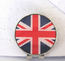 British Flag Golf Ball Marker w/Magnetic Hat Clip