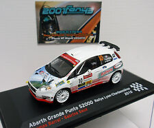 FIAT ABARTH GRANDE PUNTO S2000 #10 BARRAL RALLY CHARBONNIERES 2010 1/43 ALTAYA