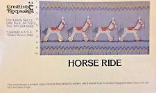 CREATIVE KEEPSAKES SMOCKING PLATE-HORSE RIDE
