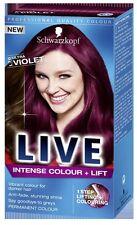 Schwarzkopf LIVE Intenso Color & Lift L76 Ultra Violeta Pro Color de Cabello Tinte x 1