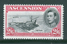 Ascension 1938/53.2/6d P13, SG45c. Very fresh MM