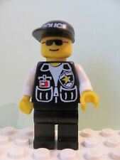 LEGO Minifig cop044 @@ Police Sheriff Star Cap Police Pattern, Sunglasses 6549