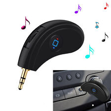 3.5mm AUX Car Bluetooth V4.2 Receiver Speaker Music Streaming Audio Adapter Mic