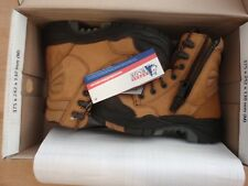 STEEL BLUE 617539 Torquay Zip Composite Safety Toe Boots Airport Friendly Size 3