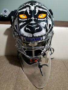 ITECH Custom Painted  Senior Goalie Mask + Goalie Throat Guard