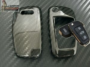AUDI Real Carbon Fiber Key Cover Case RS6 RS5 RS4 A4 RS3 S3 S4 ( 3 Button )