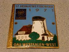 17. Heimatwettbewerb 1971 ADAC Gau Westfalen-West Badge emblem A. Rettenmaier