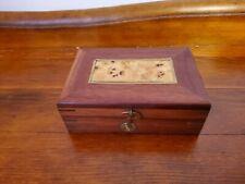 Small  hinged trinket box  (hand  made)