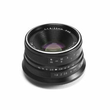7artisans 25mm f/1.8 lens for Fujifilm X mount APS-C Mirrorless camera FX X-T1