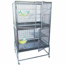 Rat & Ferret Cage 2 Large Doors 2 Levels Stylish Really Strong Space to Run