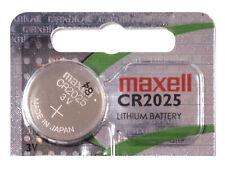 Maxell CR2025 3V Pila Batteria Cell Coin replace CR BR DL ECR KCR LM ML 2025