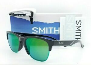 NEW Smith Haywire sunglasses Black Chromapop Green Mirror AUTHENTIC $139 classic
