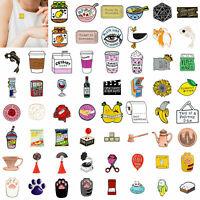Women Cartoon Enamel Piercing Brooch Pin Collar Pin Badge Corsage Jewelry Gift