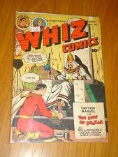 WHIZ COMICS #105 VG+ (4.5) 1949 JANUARY FAWCETT* B
