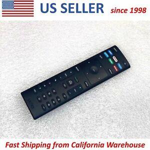 Original VIZIO TV Remote Control XRT136 VUDU Netflix Amazon Prime hulu Hotkeys