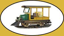 Hartland Locomotive Works Woody Rail Car G Scale Trains 09210 NEW FULL WARRANTY