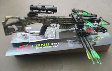 NEW PSE Fang XT Crossbow complete package Mossy Oak COUNTRY 350 fps FANG 350XT