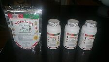 3 Nopalina Flax Seed Plus 120 capsules + Bolsa de 4 Oz gratis