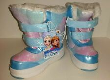 New With Tags, Toddler Girls' Disney Frozen Winter Snow Boots, Size: Xl 11/12