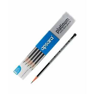 60 PENCIL OF NEW APSARA PLATINUM EXTRA DARK PENCIL FOR SMOOTH & CLEAR WRITING