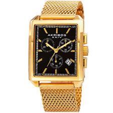 Akribos XXIV Men's Classsic  AK918YGB Wrist Watch