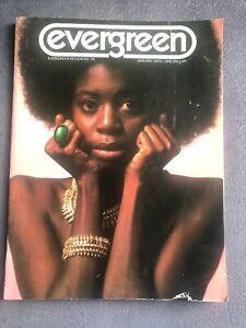 Evergreen Review January 1970 NO. 74 Charles Bukowski Jack Kerouac