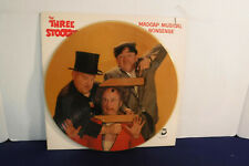 The Three Stooges, Madcap Musical Nonsense, Picture Disc, RNLP 808,1983 Children