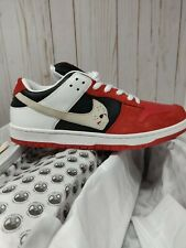 "Warren Lotas SB Dunk ""Jason Voorhees"" Size10.5 Rare Customs Limited nike"