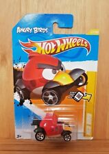 HOT WHEELS 2012 NEW MODELS ANGRY BIRDS 47/50 RED BIRD 47/247 US Card (A+/A-)