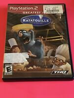 🔥SONY PS2 PlayStation Two 💯COMPLETE WORKING GAME DISNEY PIXAR RATATOUILLE