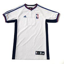 Vintage Adidas Vneck T shirt Size S Blank Number Short Sleeve Jersey Off White
