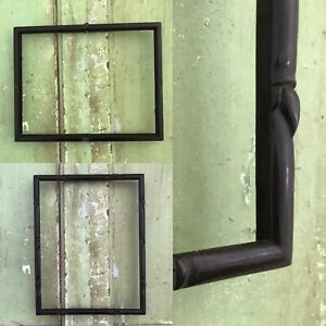 """Antique Ornate BLACK Vintage  EBONISED FRAME fit a Painting Picture 8.5"""" BY 11"""""""