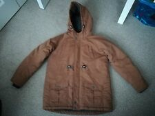 Boys parka coat Matalan age 12 years fleece lined. In great condition, warm