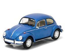 Da Fino's Volkswagen Beetle Blue The Big Lebowski 1/43 Diecast Model Car 86496