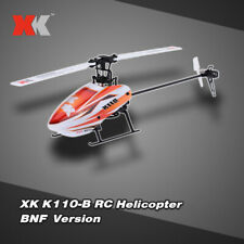XK Blast K110-B 6CH 3D 6G System Brushless Motor BNF RC Helicopter Hot G3J2