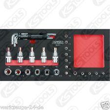 Ks Tools Scs 1/4 + 1/2 Poco Juego Tx 31 Unid. 1/3 Sistema de Repuestos 783.0031