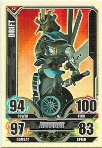 TRANSFORMERS Movie Limited Edition Card LE3 DRIFT - TOPPS 2005